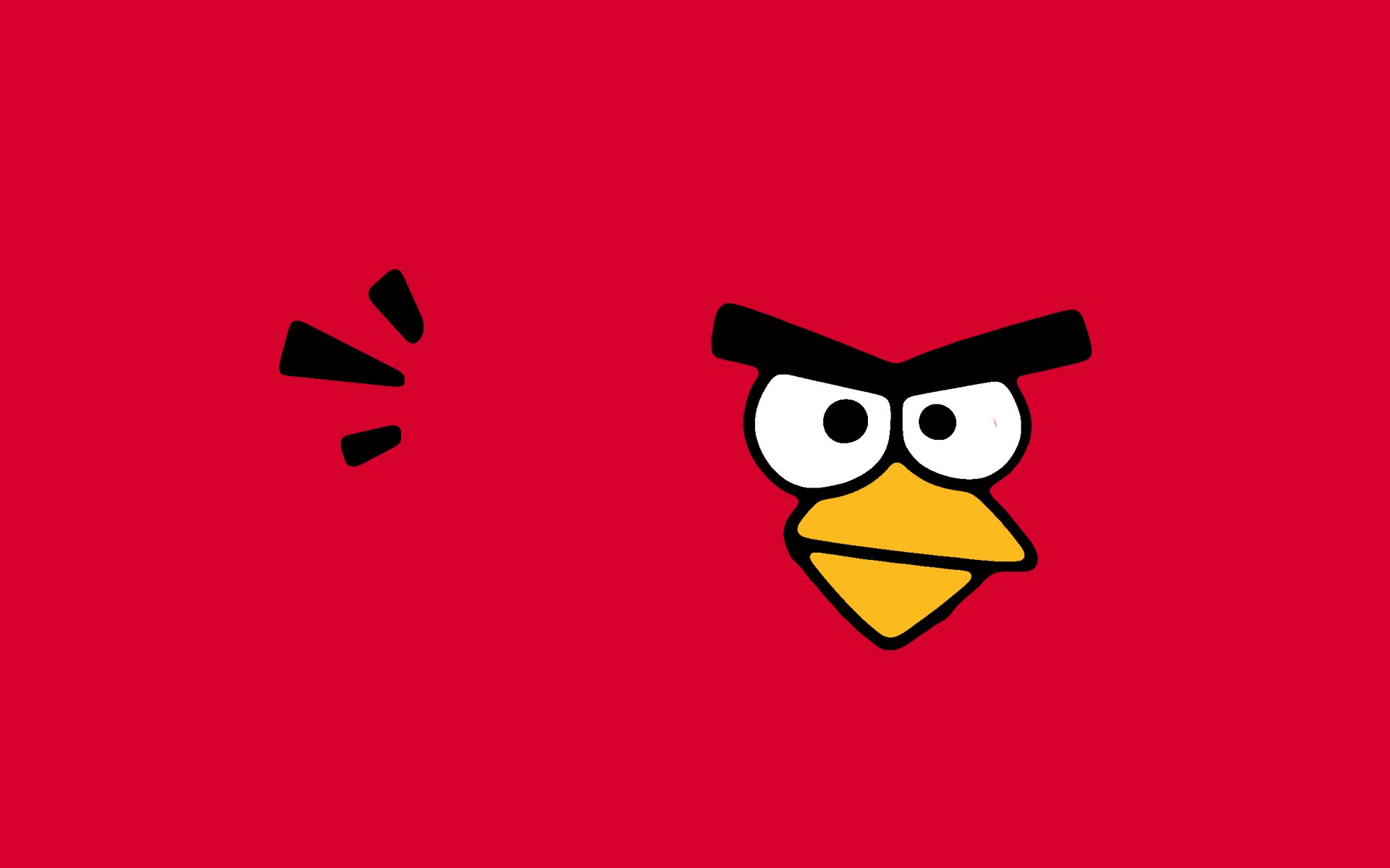 Red Angry Birds Wallpaper. Angry Birds Golden Egg