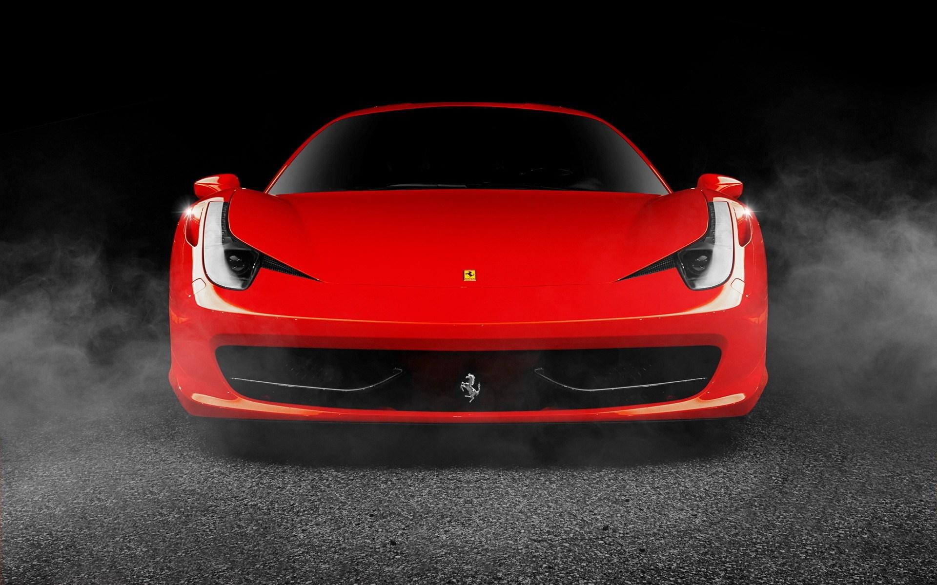 Red Car Ferrari 458 Italia Photo