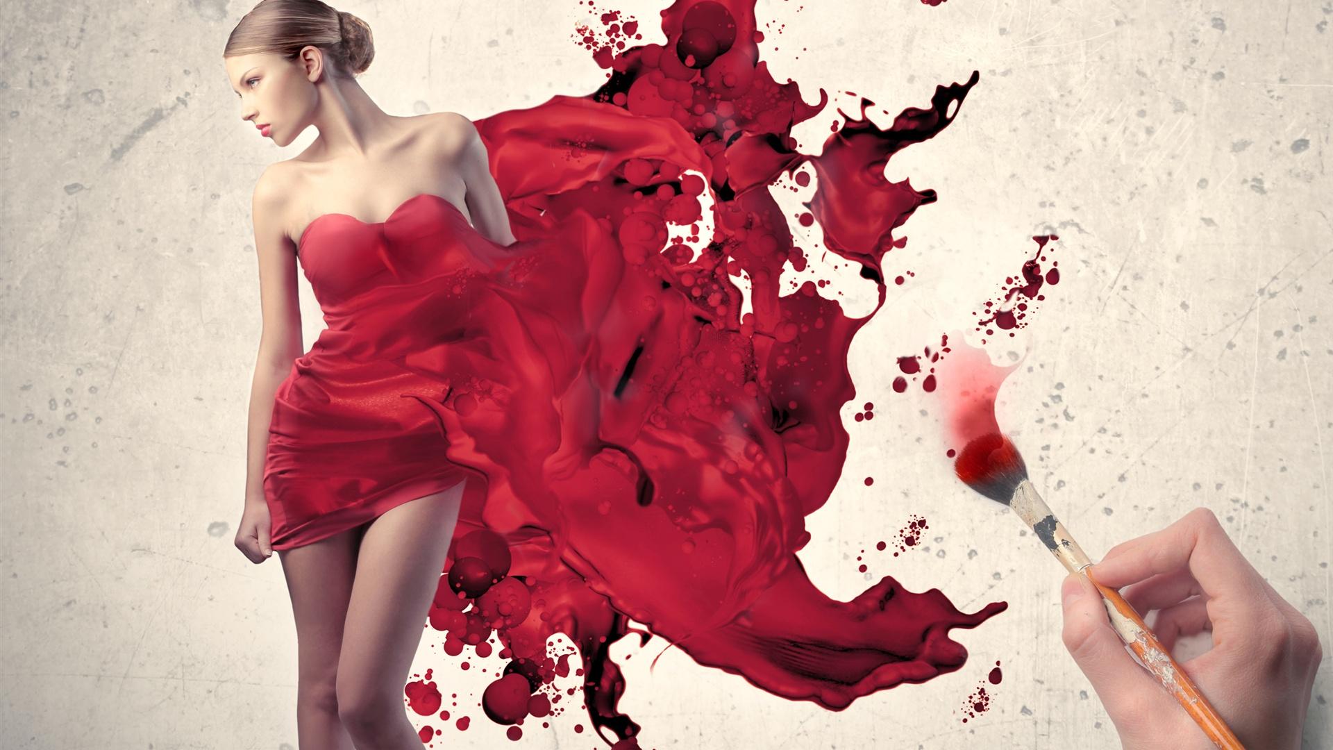 Red Dress Girls HD Wallpapers ...
