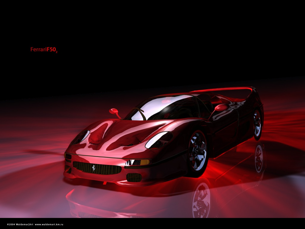 Red Ferrari Wallpaper 1024x768 60854