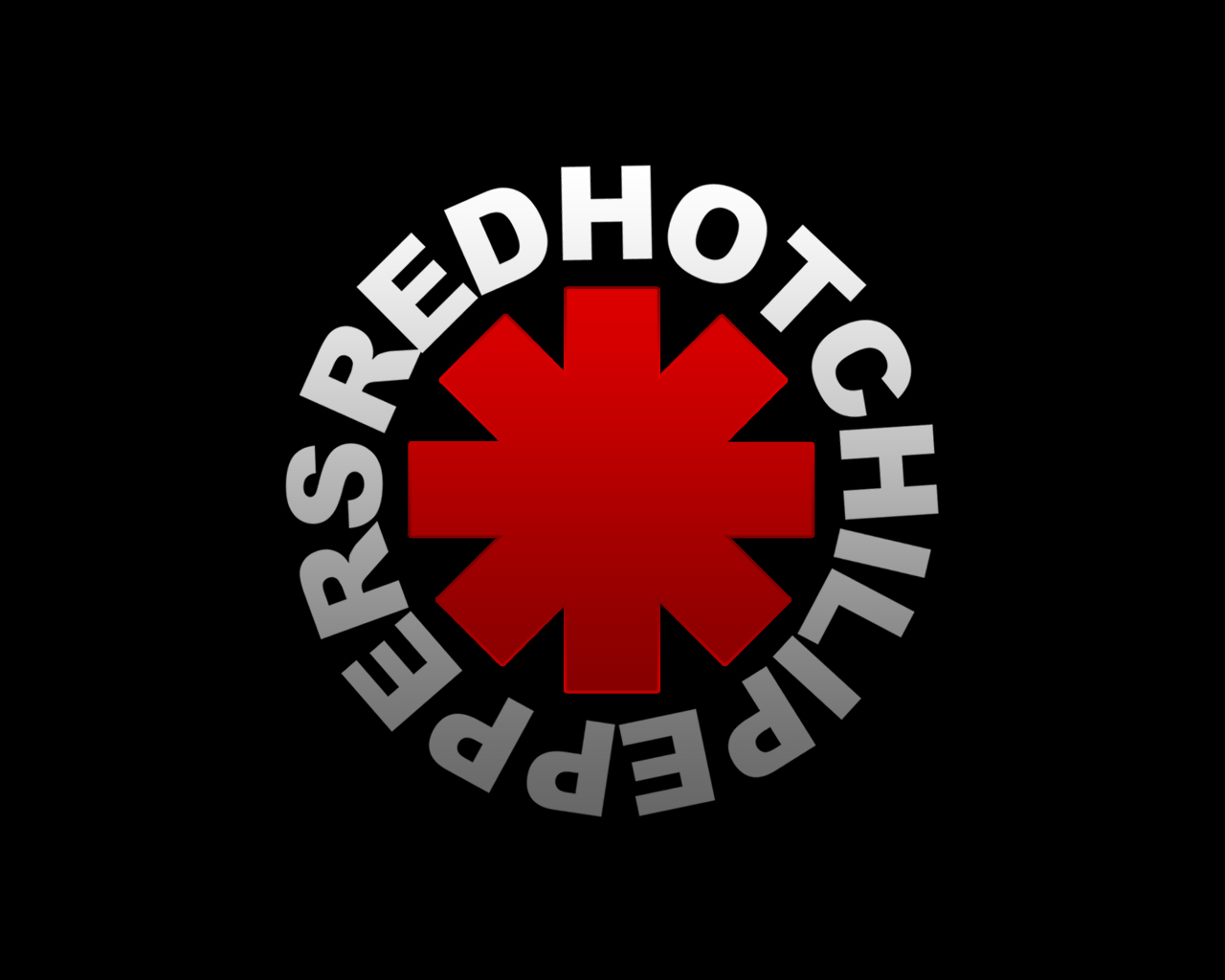 Red Hot Chili Peppers Logo Wallpaper