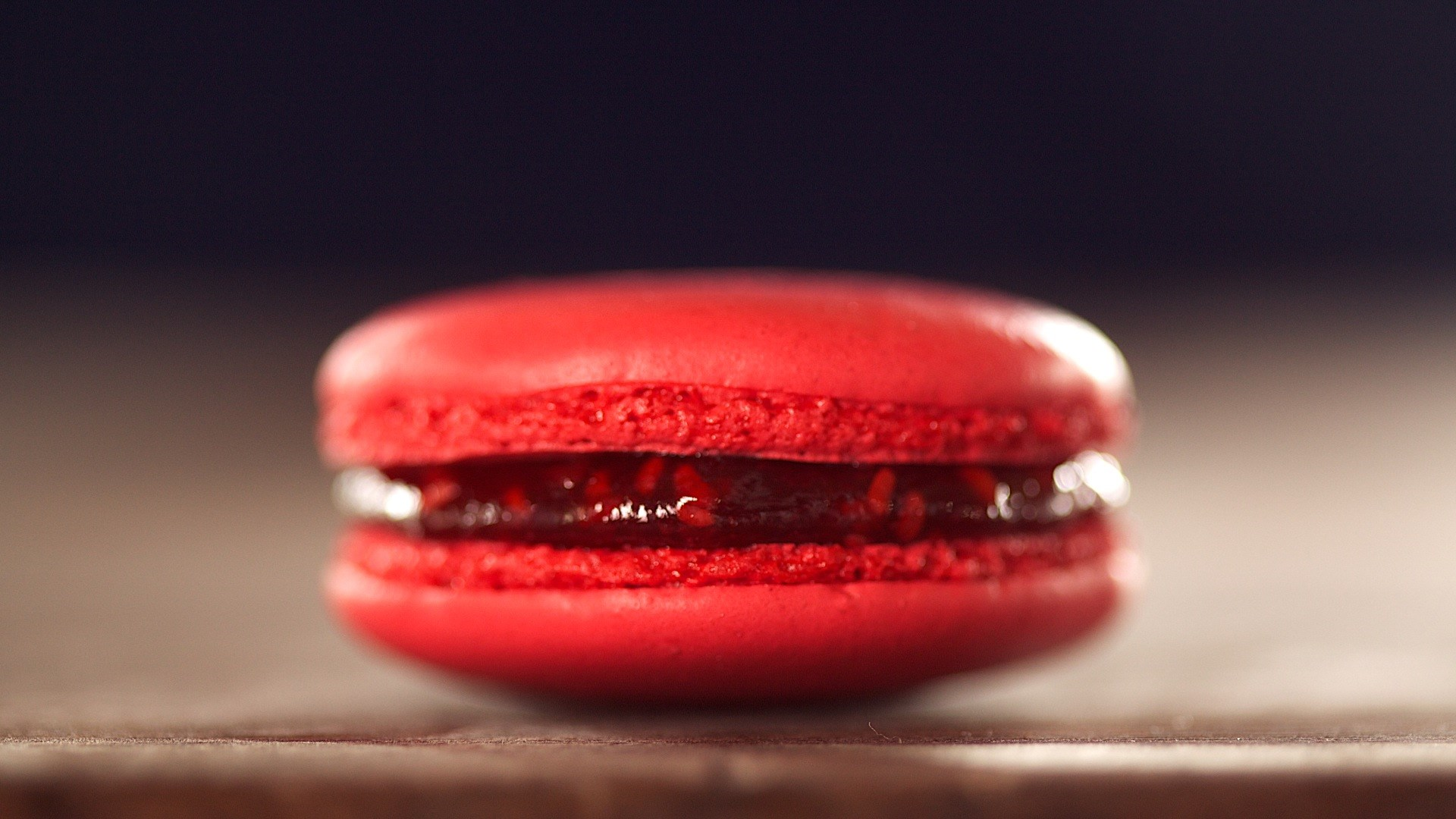 Red Macaron Cookie