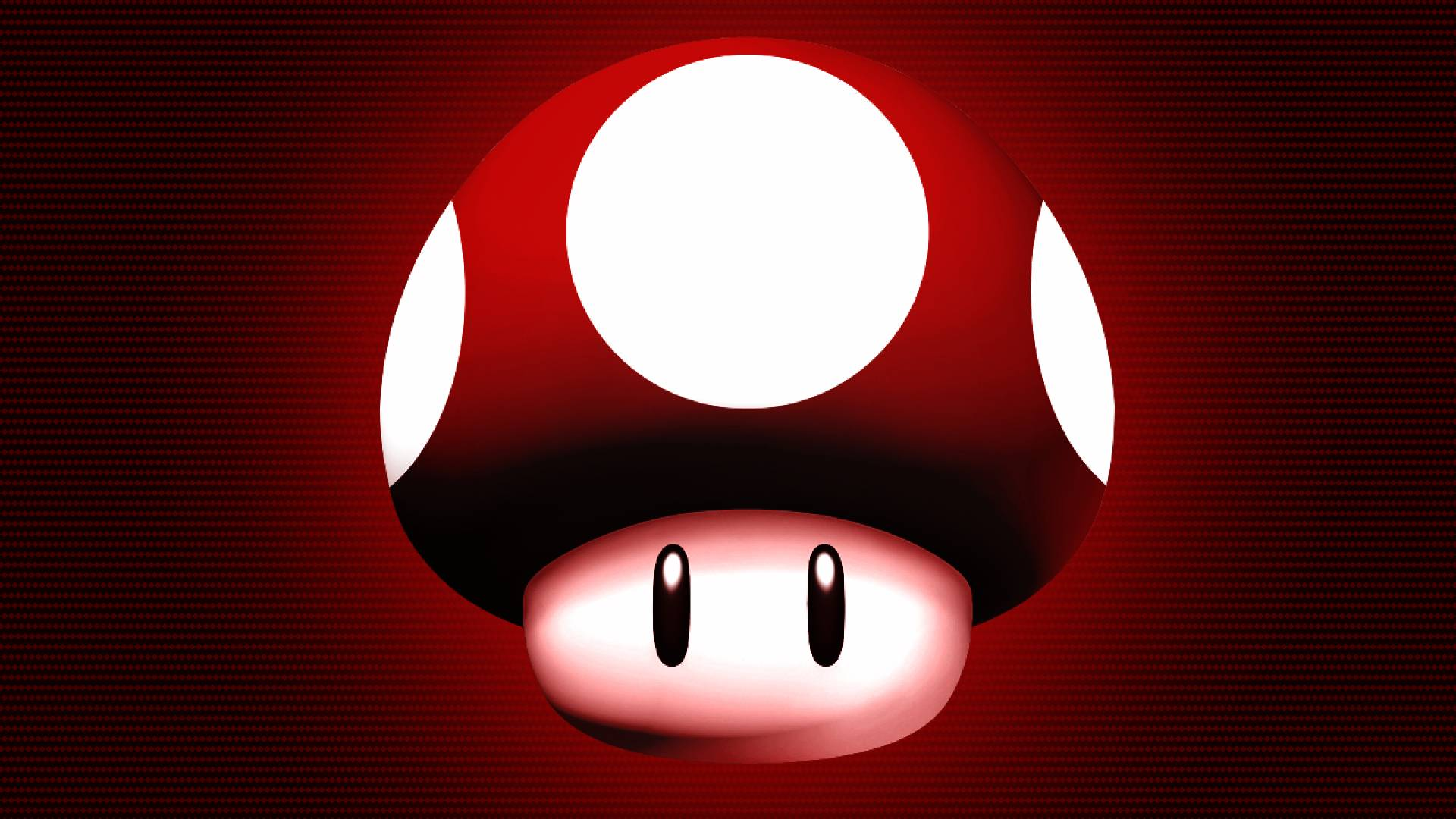 Red Mario Mushroom Wallpaper