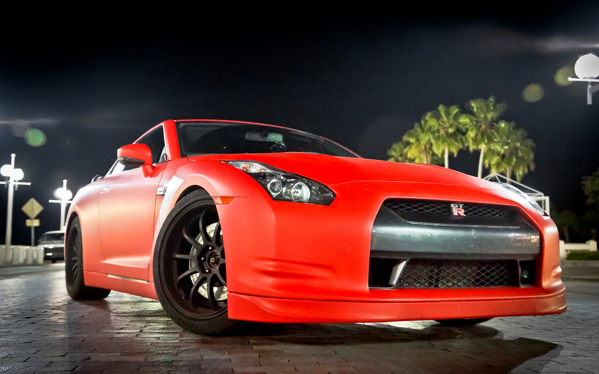 Red Nissan GTR Wallpaper 20309