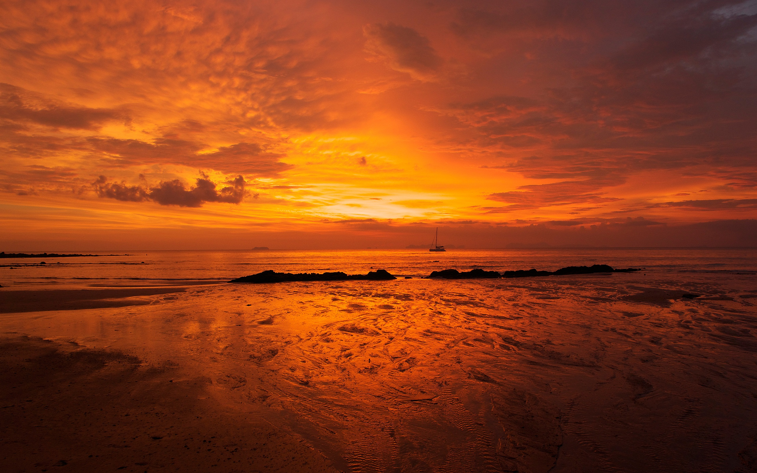 Red Sky Ocean