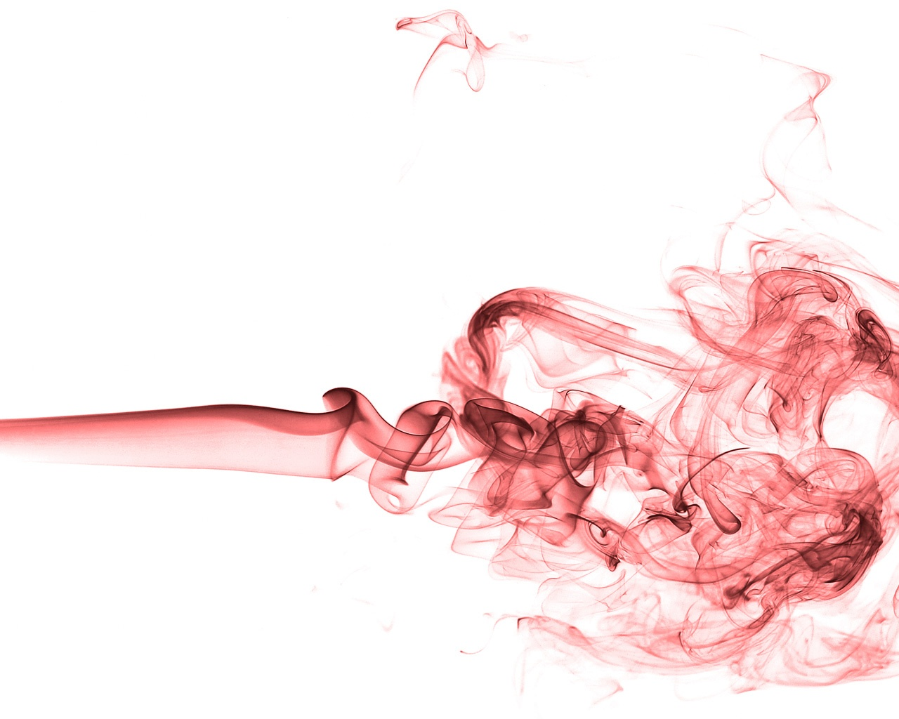 Red Smoke Wallpaper