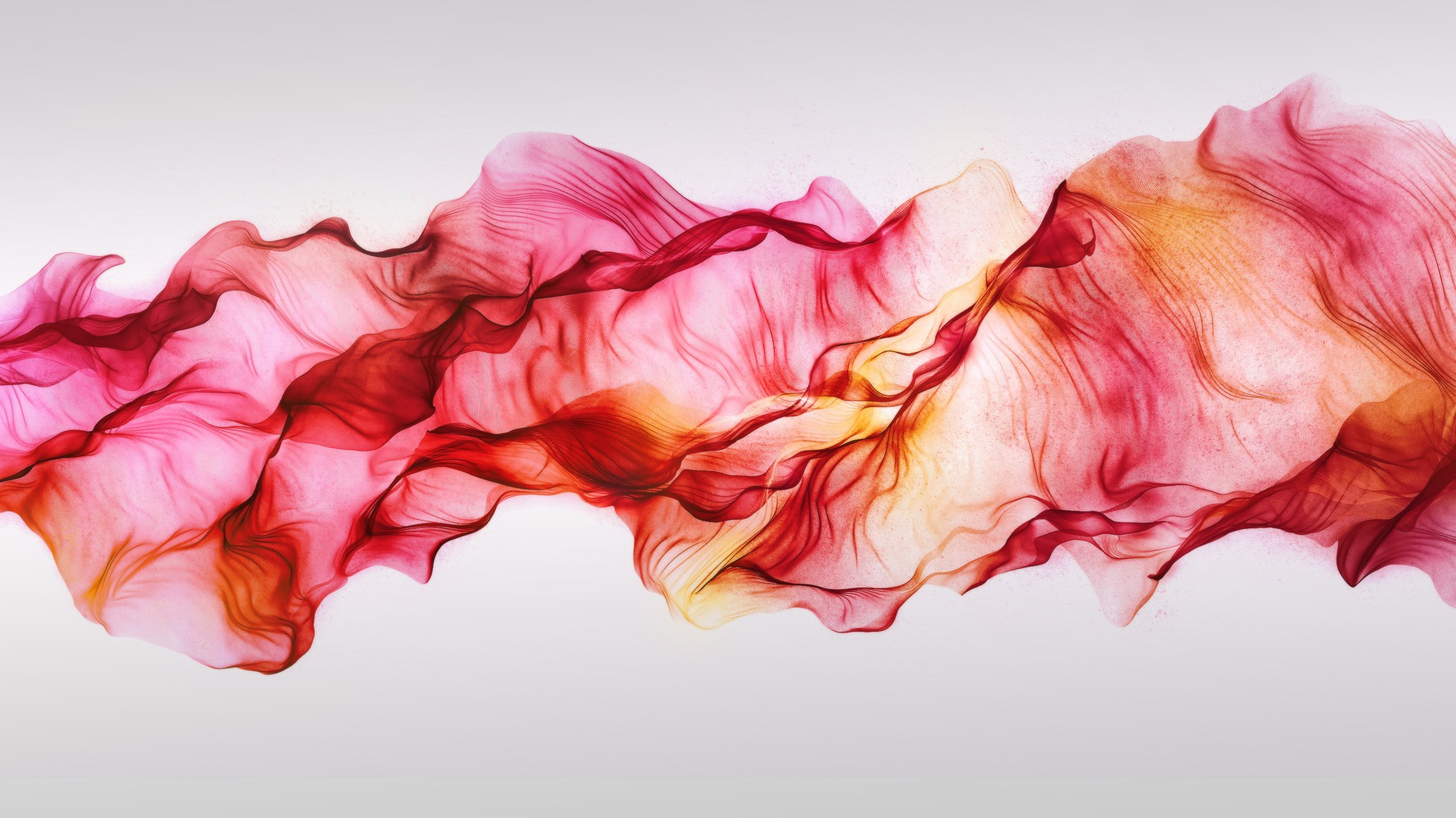 Red Smoke Wallpaper