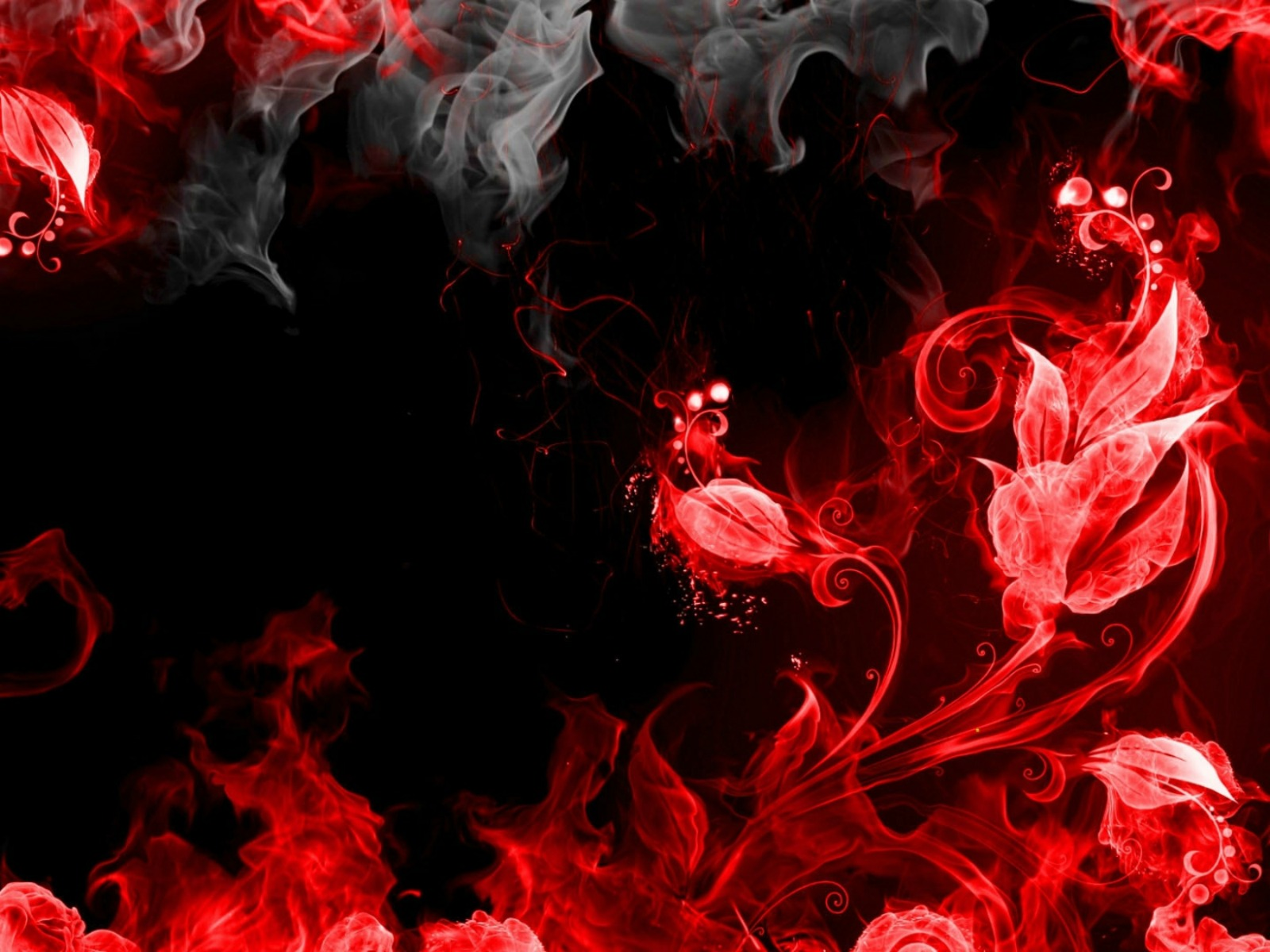 Red Smoke Wallpaper ...