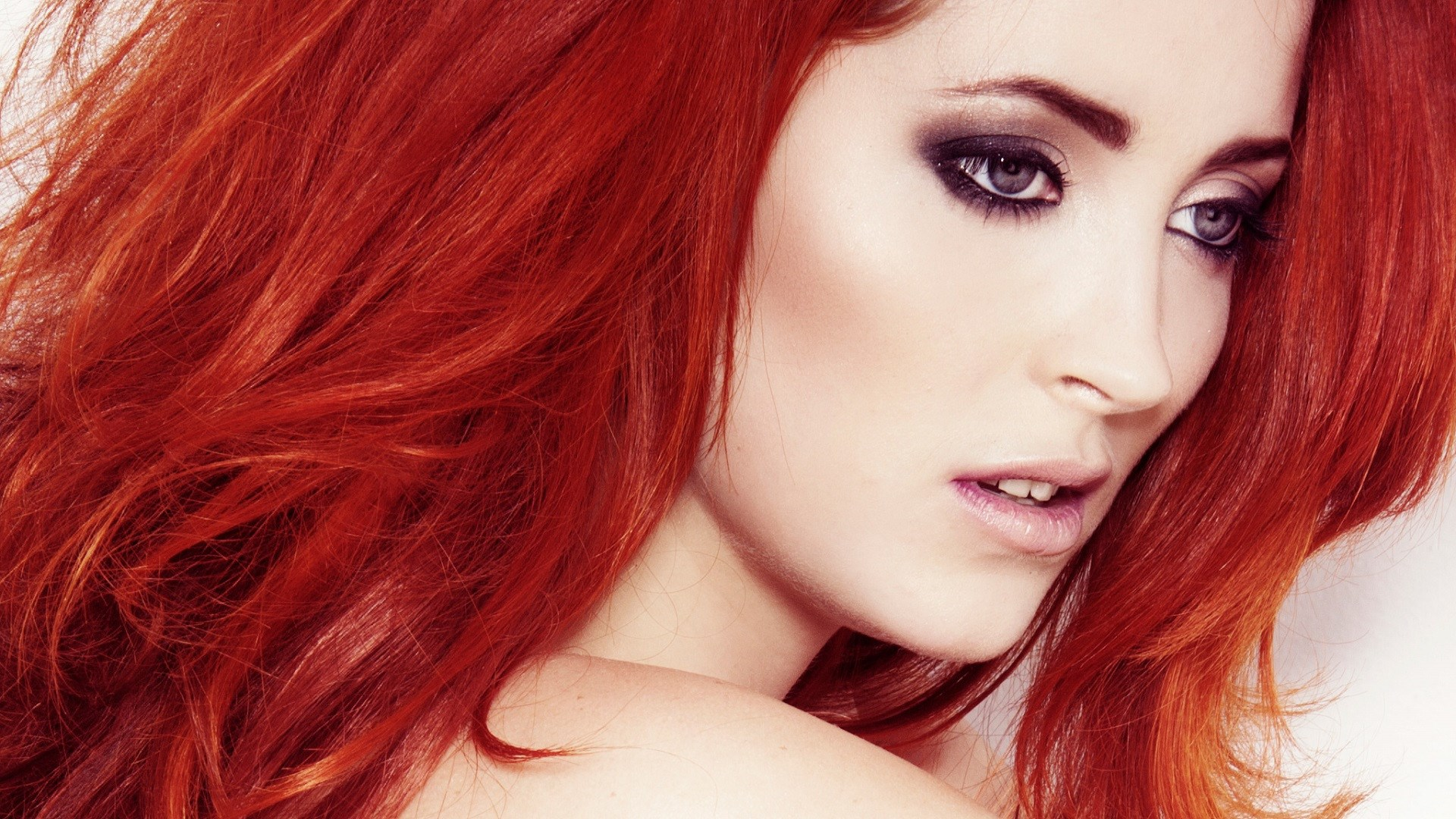 Redhead Model Lucy Collett Portrait