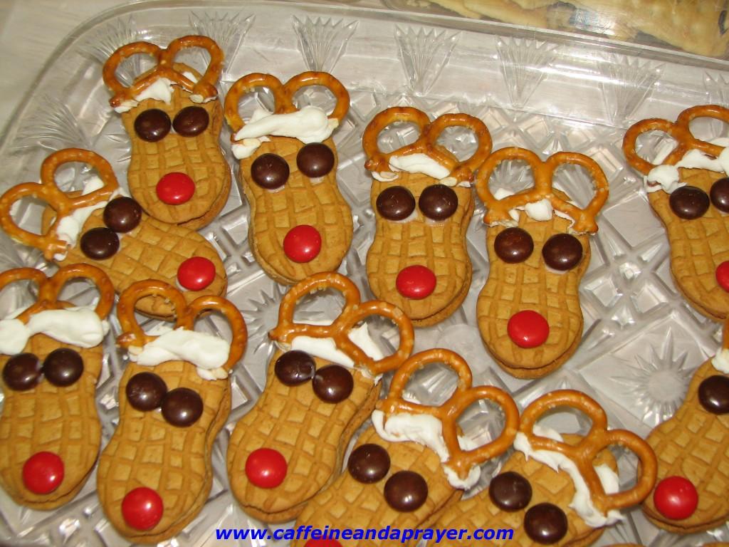 Reindeer Christmas Cookies – 9-29-2014
