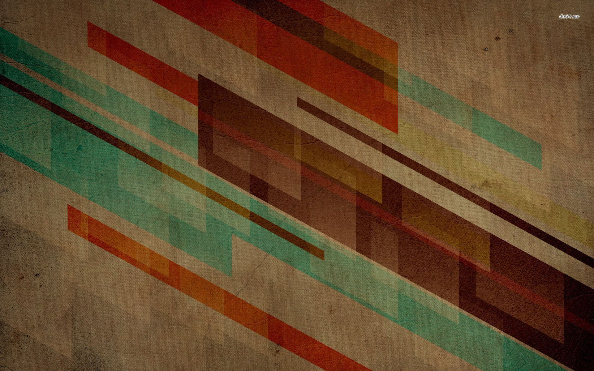 Retro Abstract Wallpaper