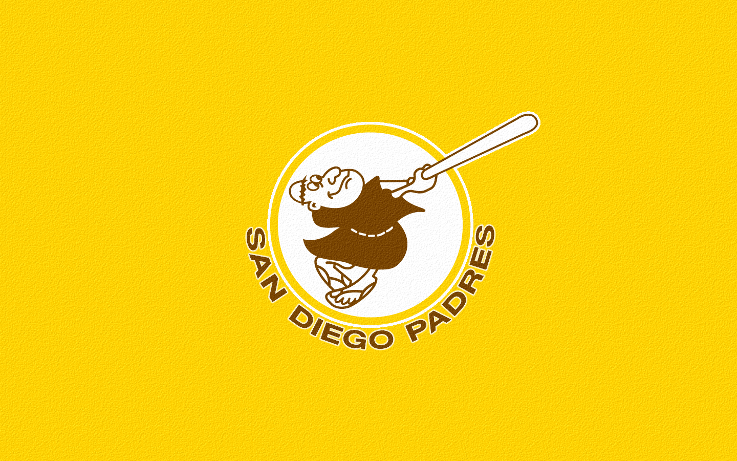 Retro Padres Wallpaper