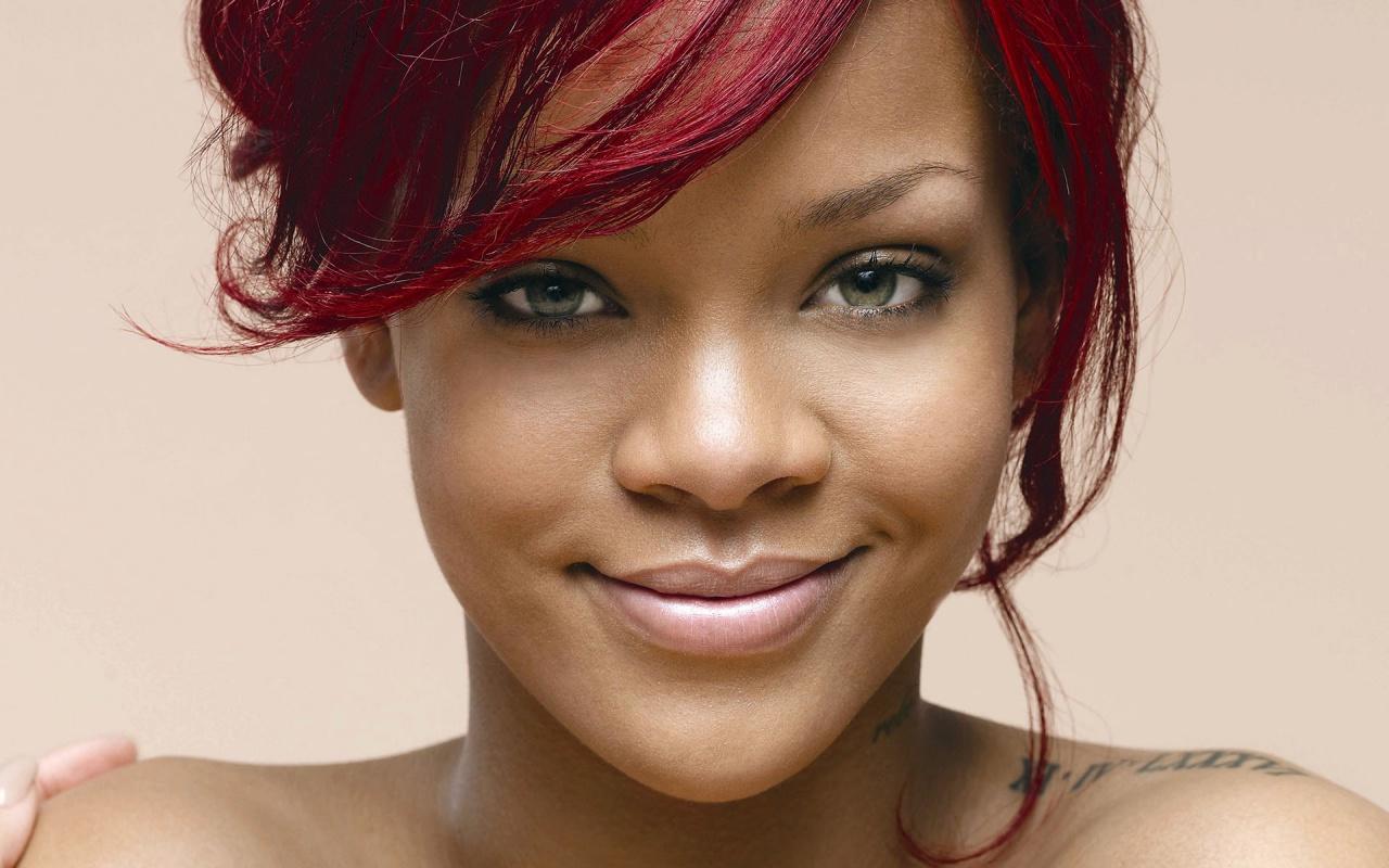 Rihanna Smile