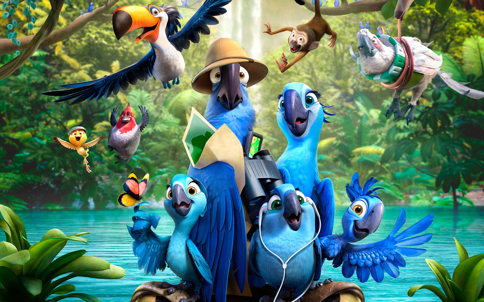 Rio-2 It will have made roughly $100M worldwide after its debut this weekend here in the states. A huge force for the picture on social media, of course, ...