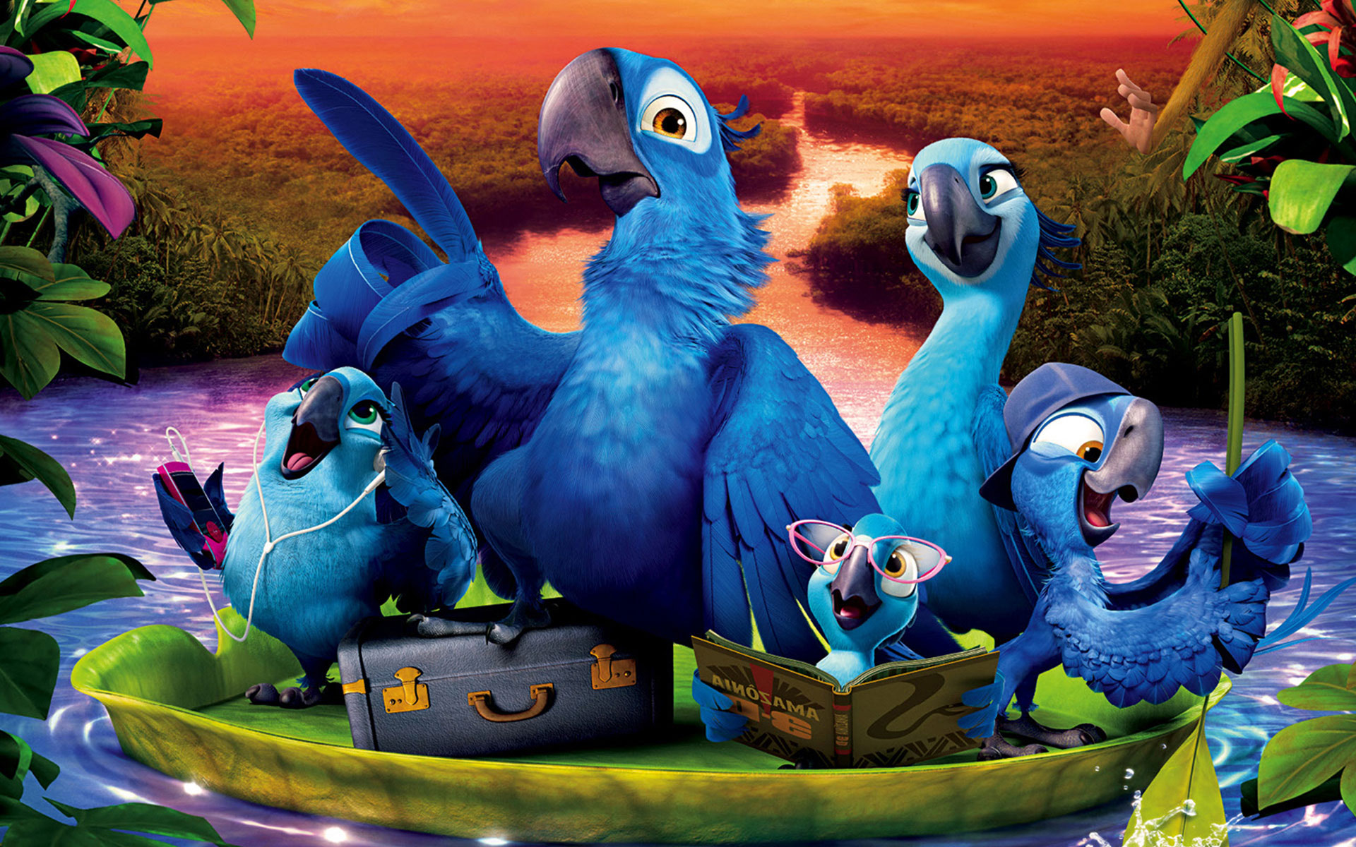 2014 Rio 2 Family wallpaper