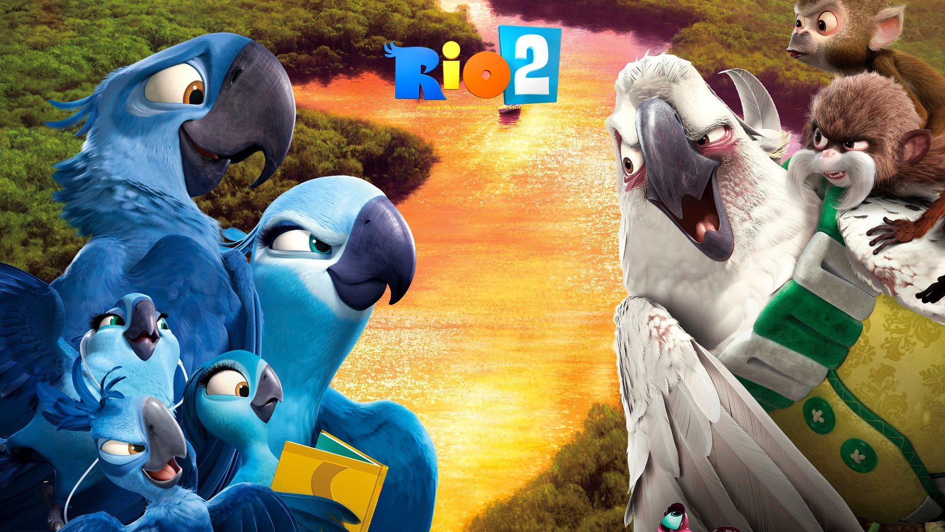 Rio 2 Wallpaper - Original size, download now.