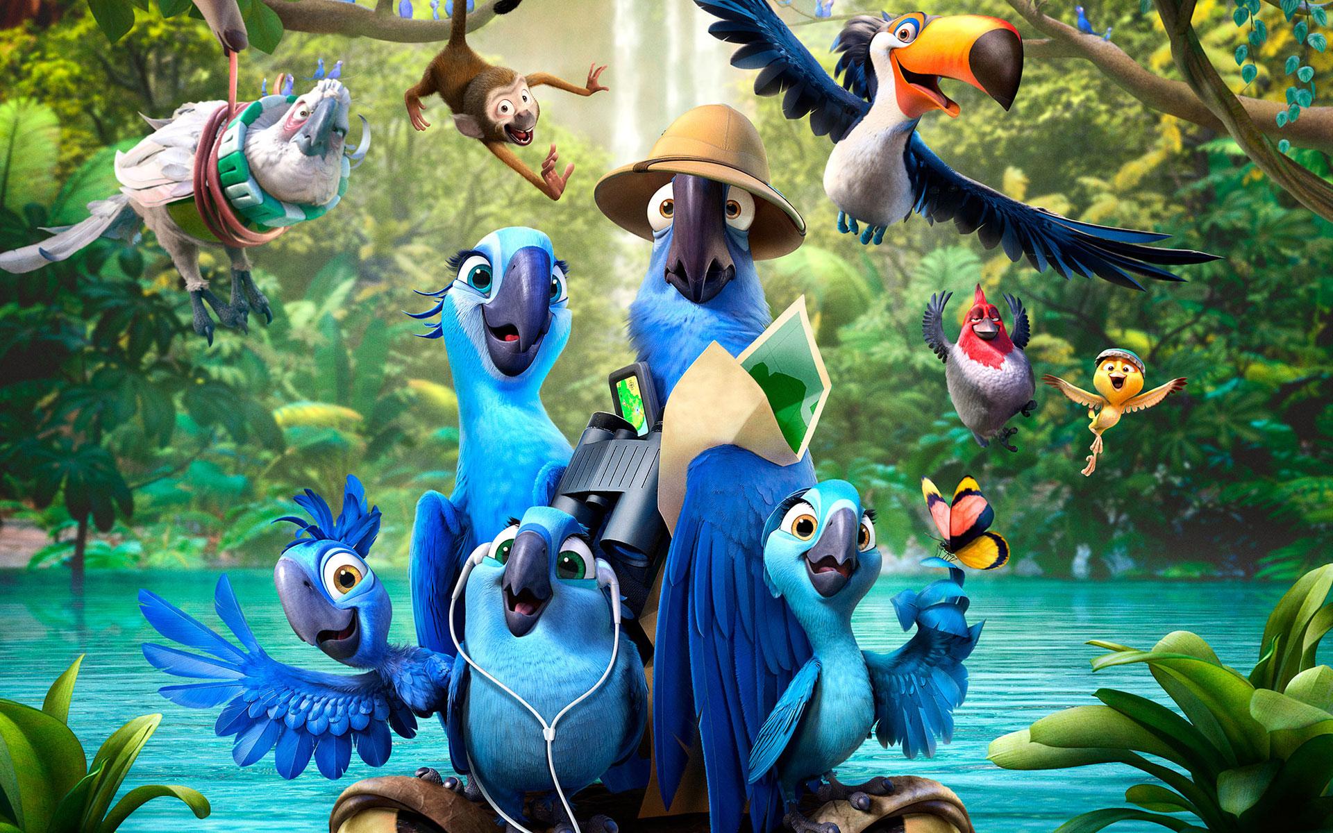 Rio 2 Movie wallpaper