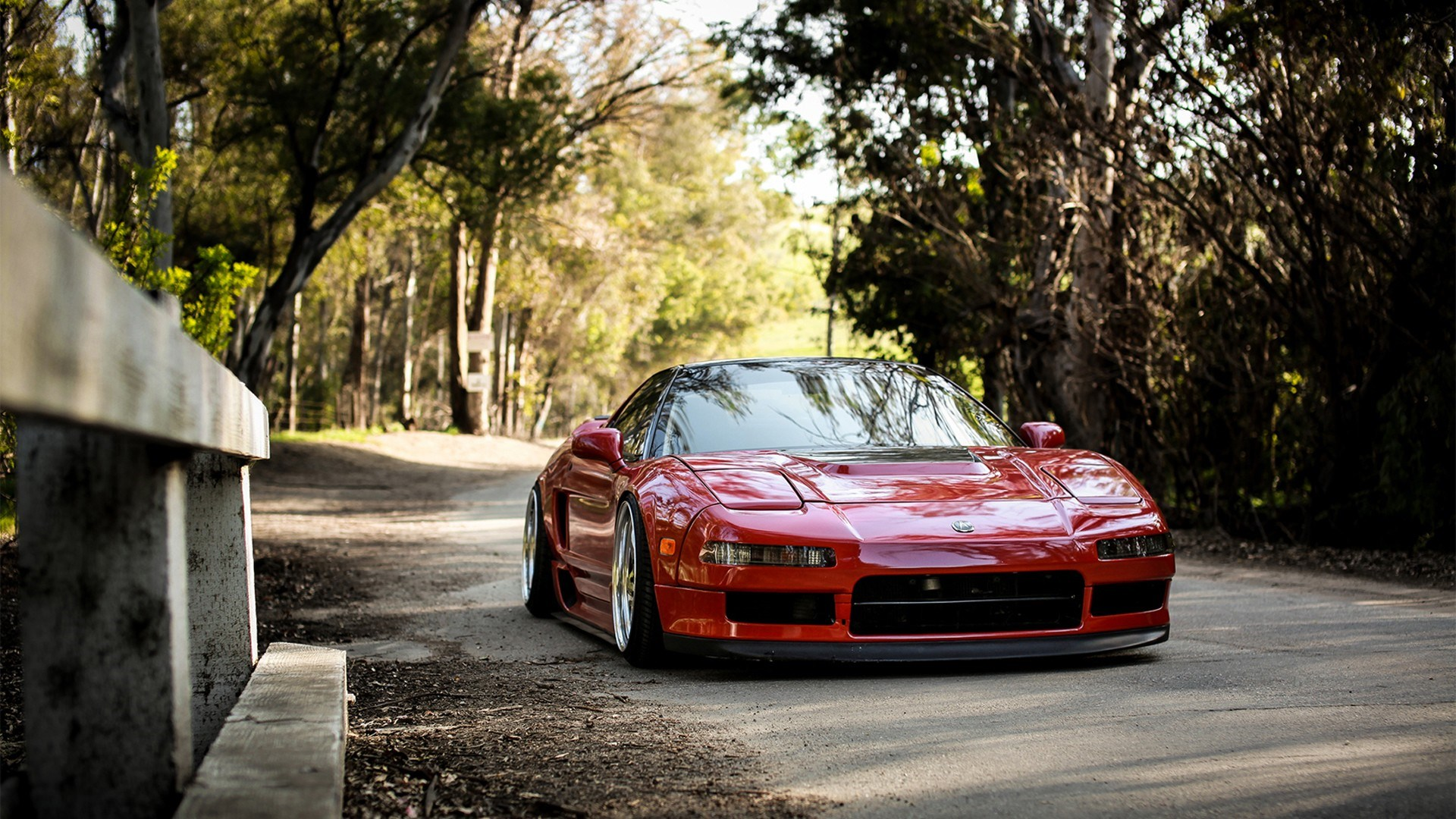 Road Acura NSX