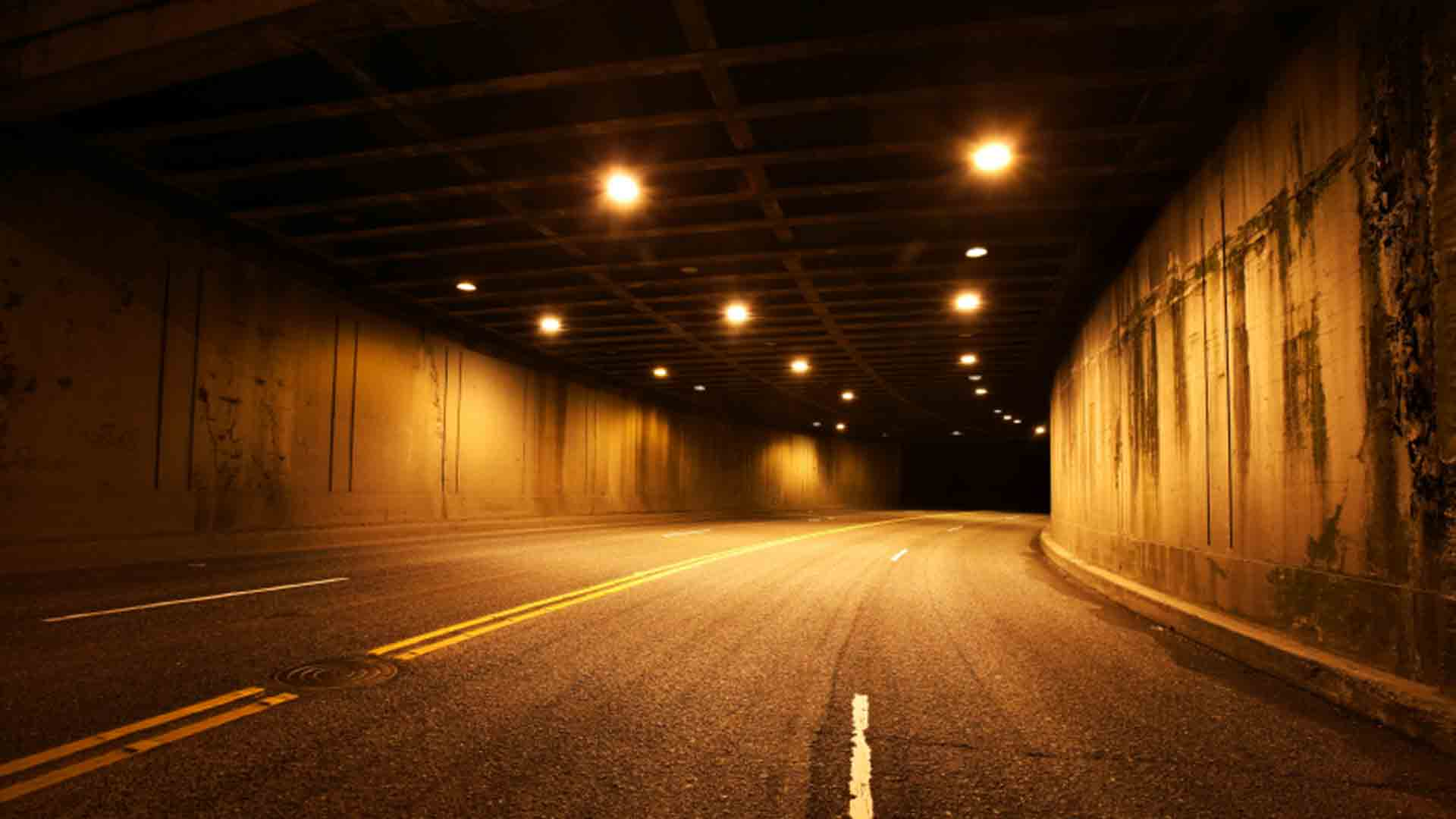 Road Tunnel Wallpaper HD