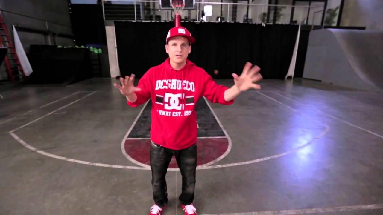 Rob Dyrdek Basketball Trickshot