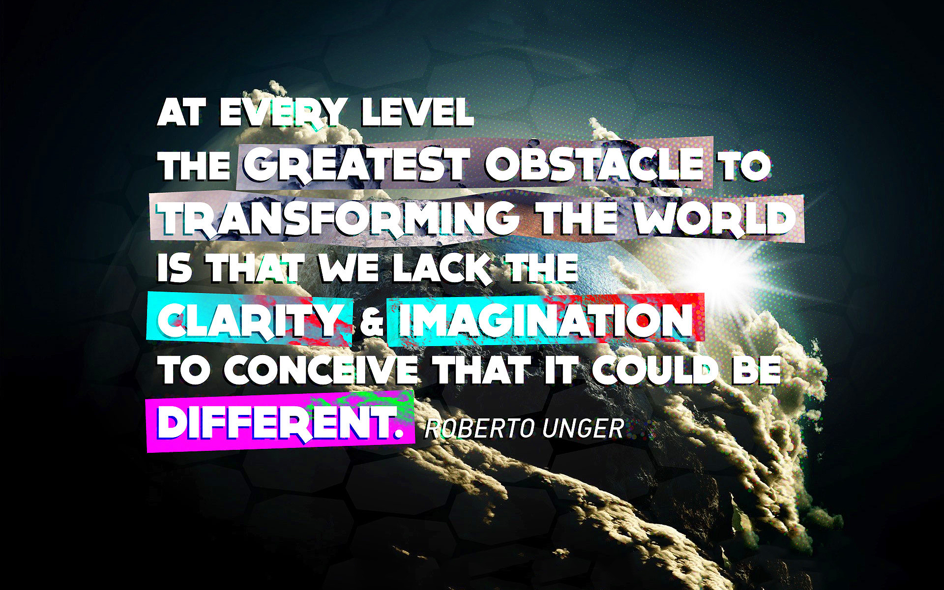 Robert unger quote