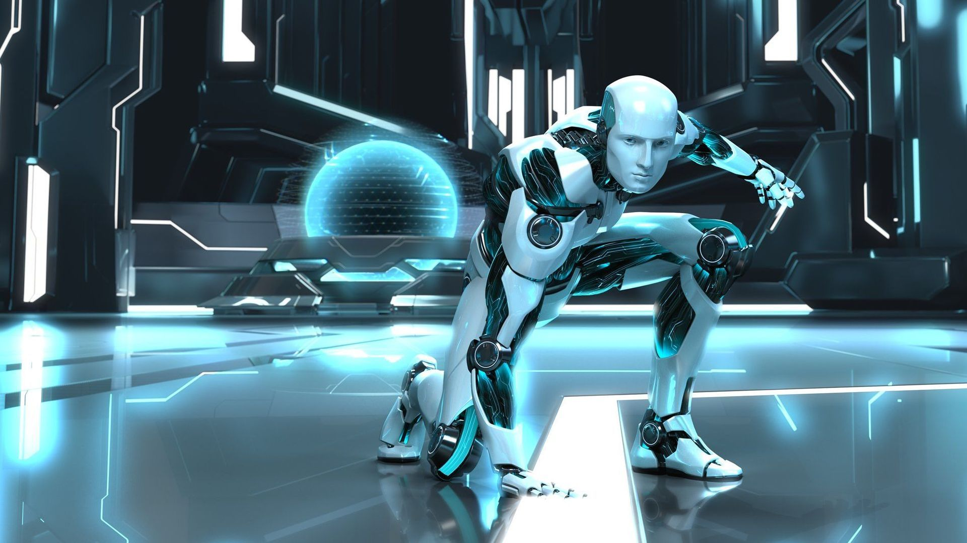 Sci Fi - Robot Wallpaper