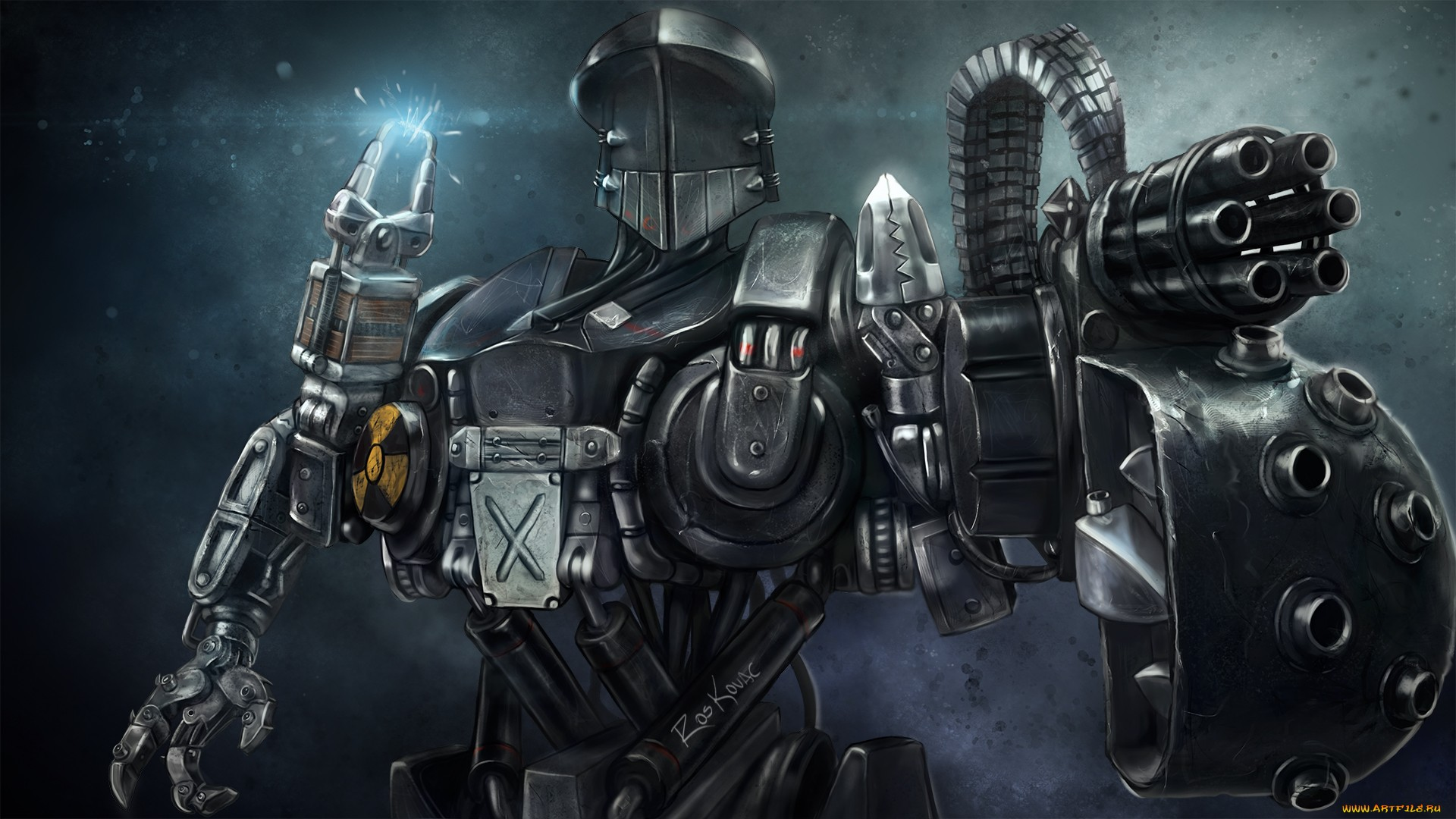 Retro Robot Wallpaper & Backgrounds