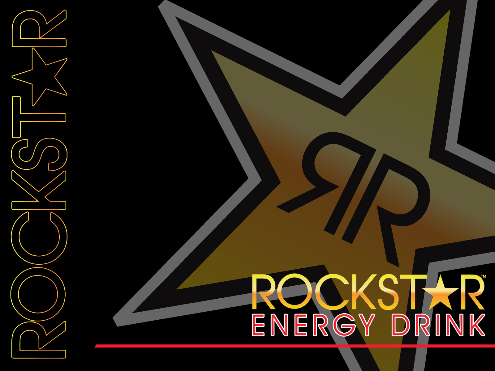 rockstar energy logo wallpaper 1600x1200 80108