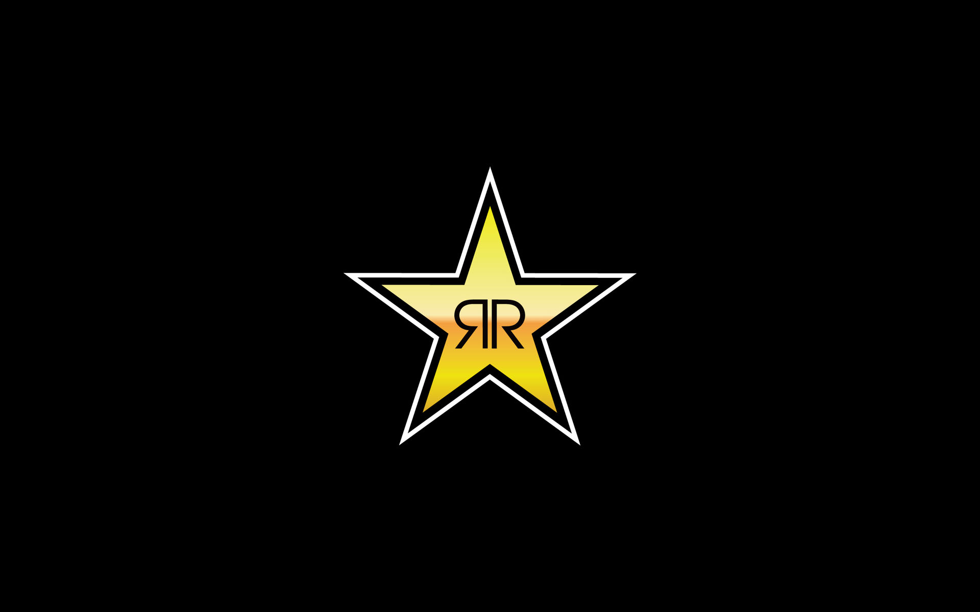 Rockstar Energy Logo wallpaper | 1920x1200 | #80107