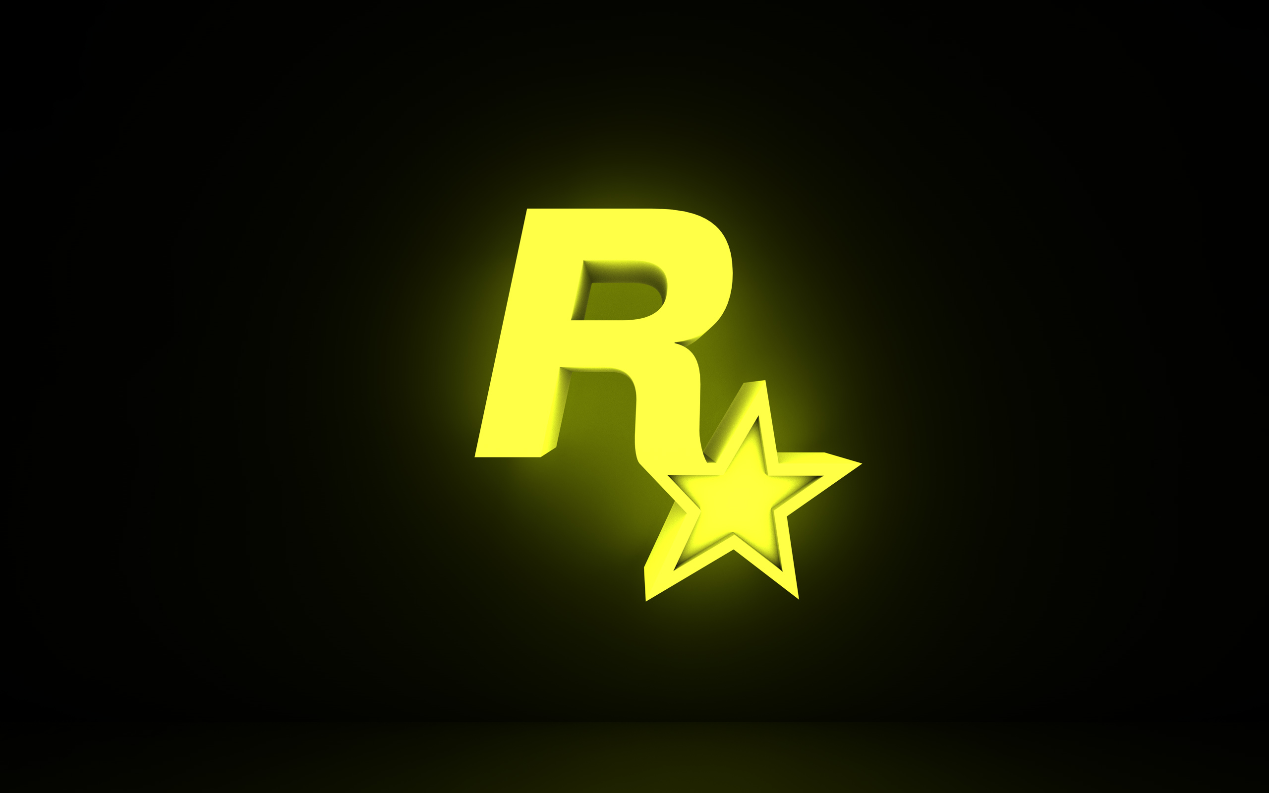 Rockstar Games Logo 3D Wallpaper Picture