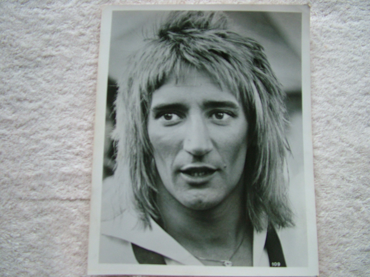 ... Rod Steward Photograph 1970's.