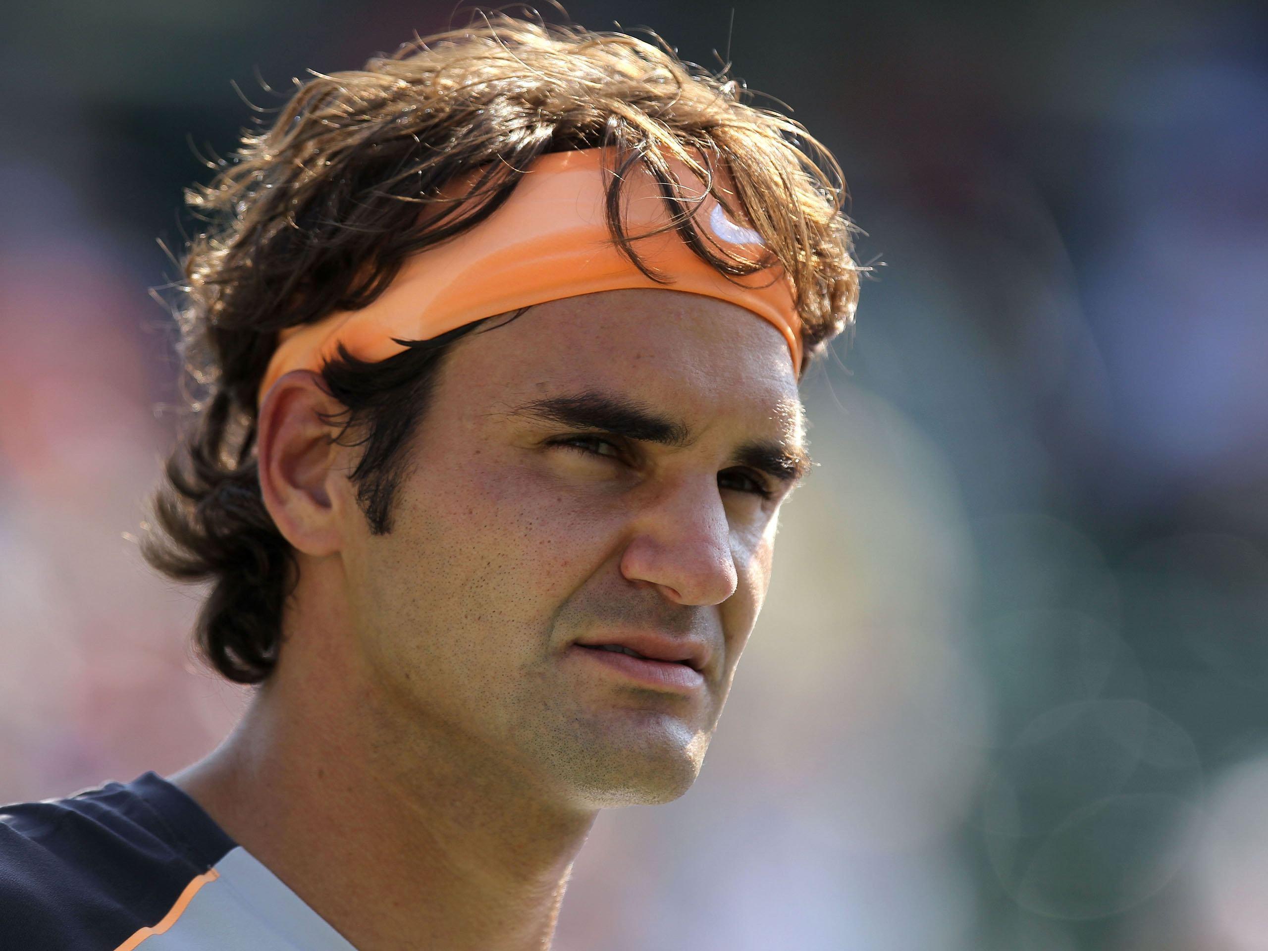 InRoger Federer