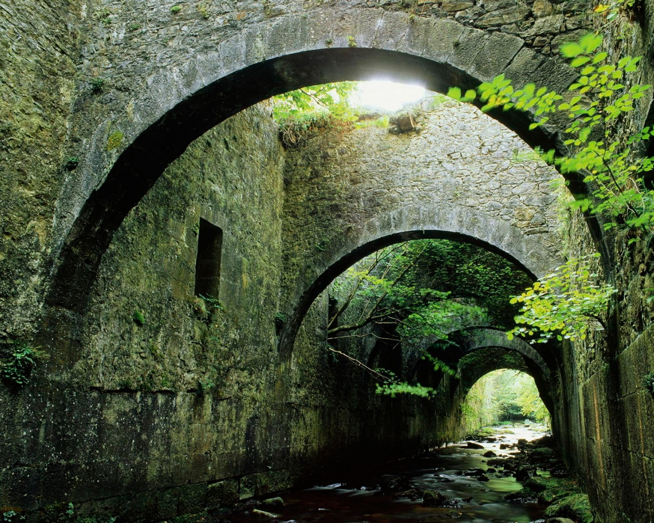 Roman bridge architecture