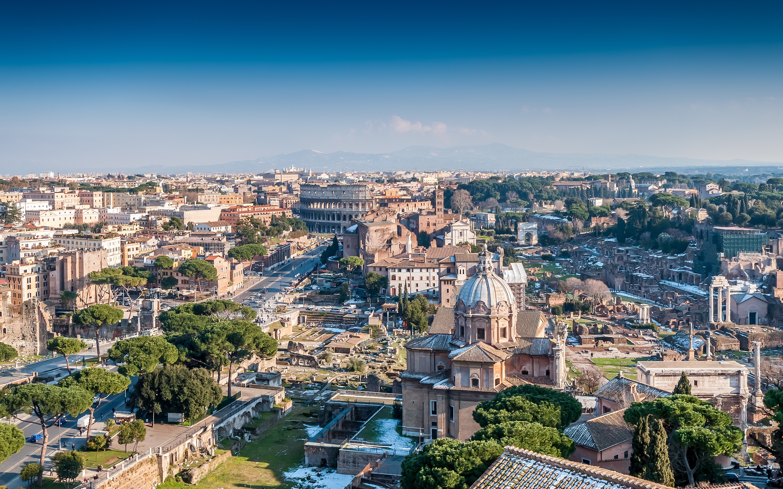 Rome italy winter