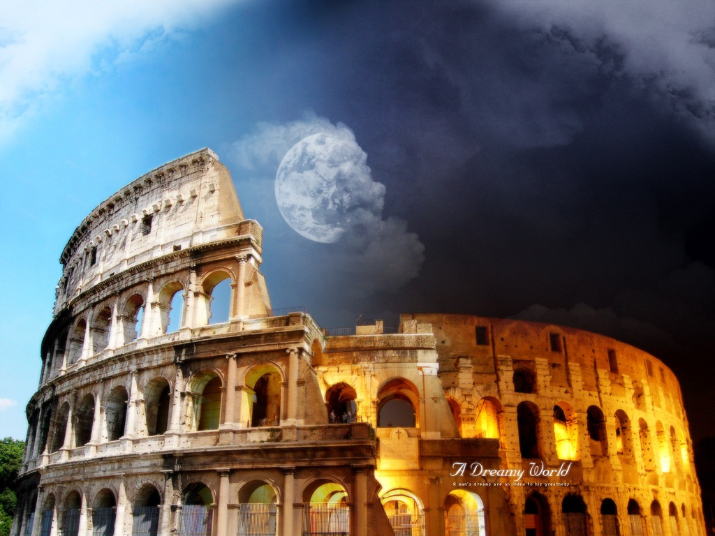 Rome Desktop Wallpaper