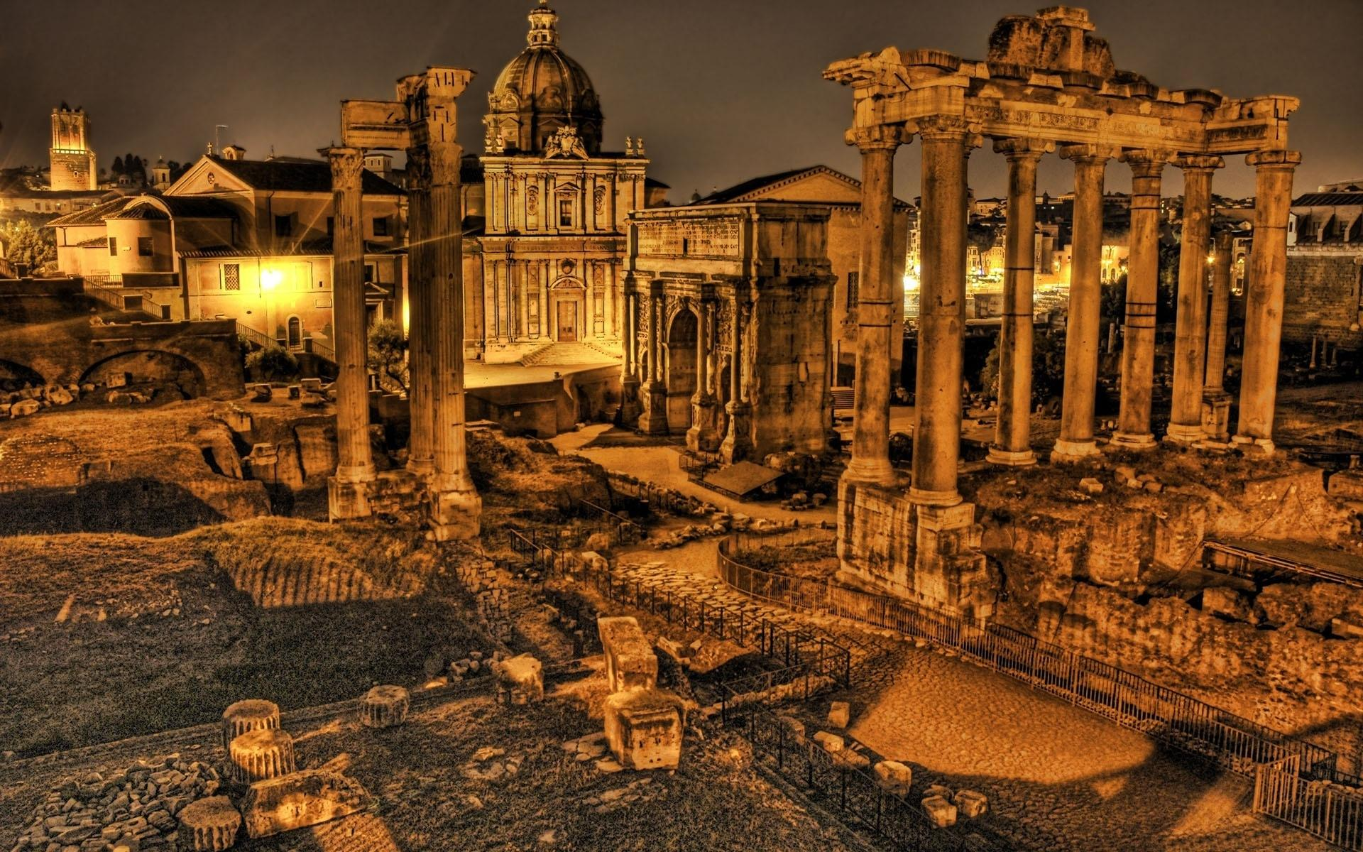 HD Rome Ruins Wallpaper