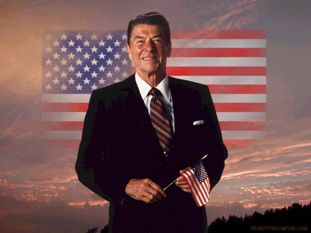 <b>Ronald Reagan</b> Patriotic <b>Wallpaper</b>