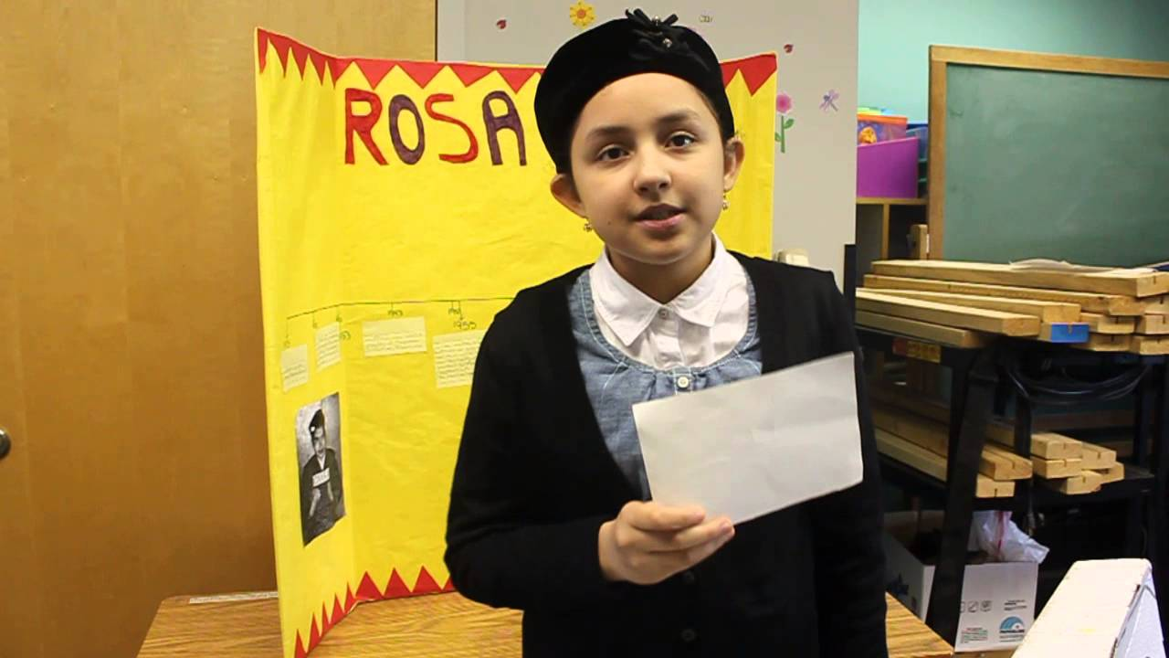 Rosa Parks by a 5th-grader