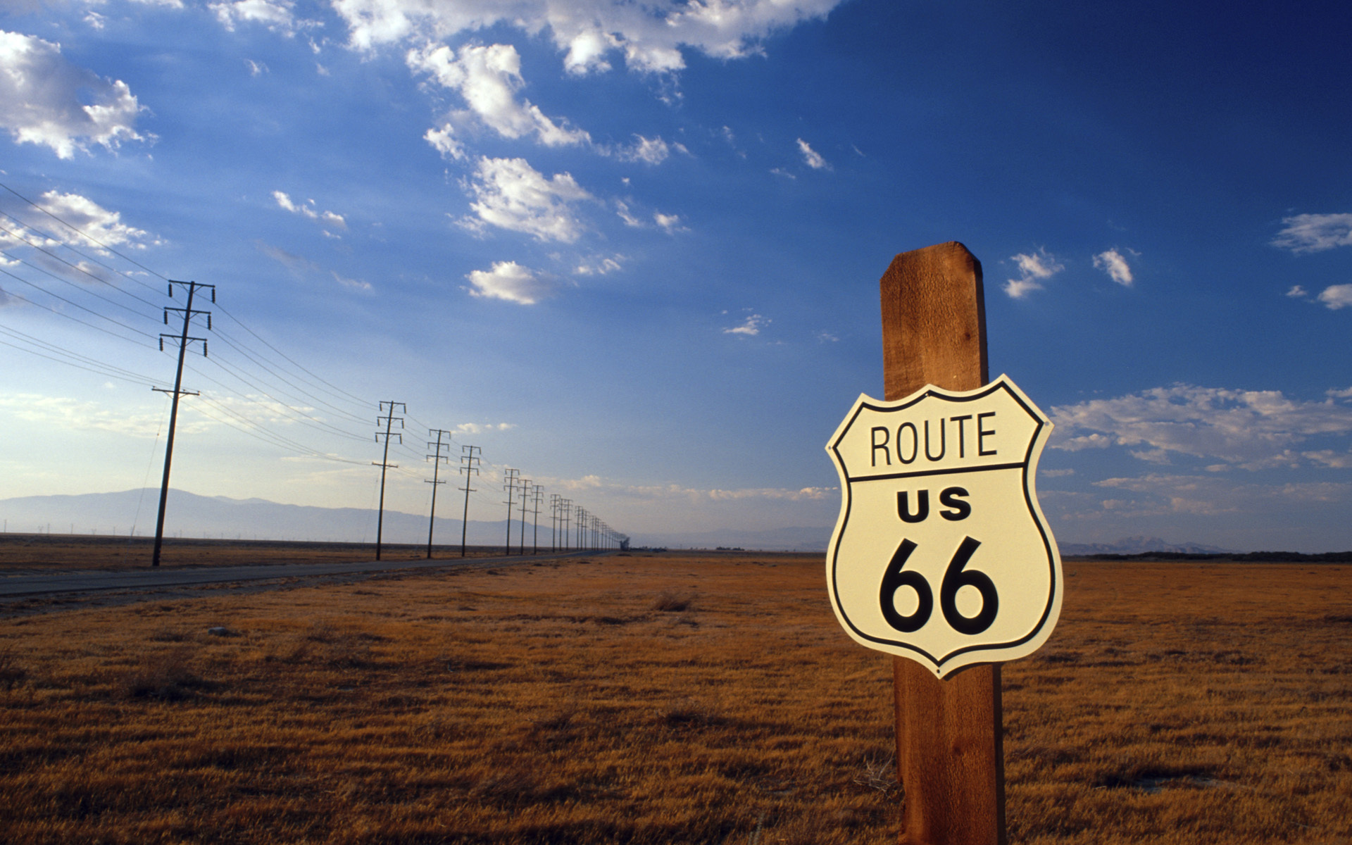 Skeedz Wallpaper - Route 66.