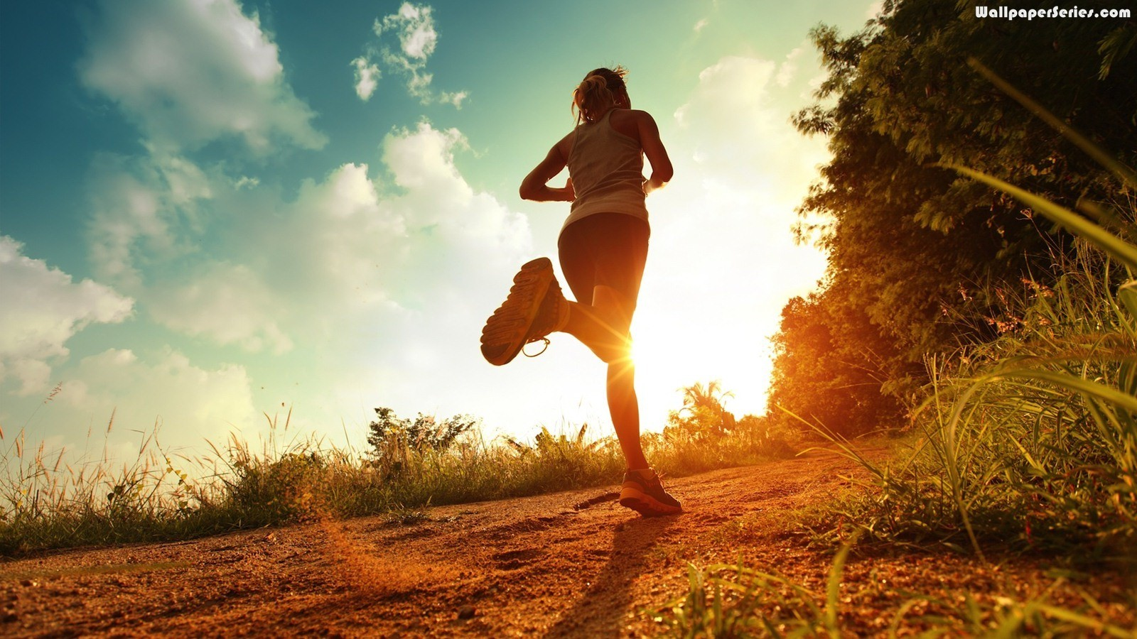 Running Exercise HD Wallpaper