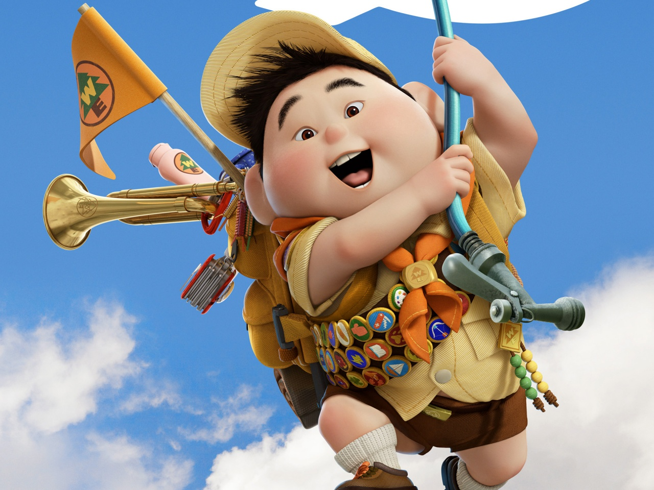 ... x 1200 1920 x 1440. Normal 5:4 Resolutions:1280 x 1024 Original. Description: Download Russell Boy in Pixar's UP ...