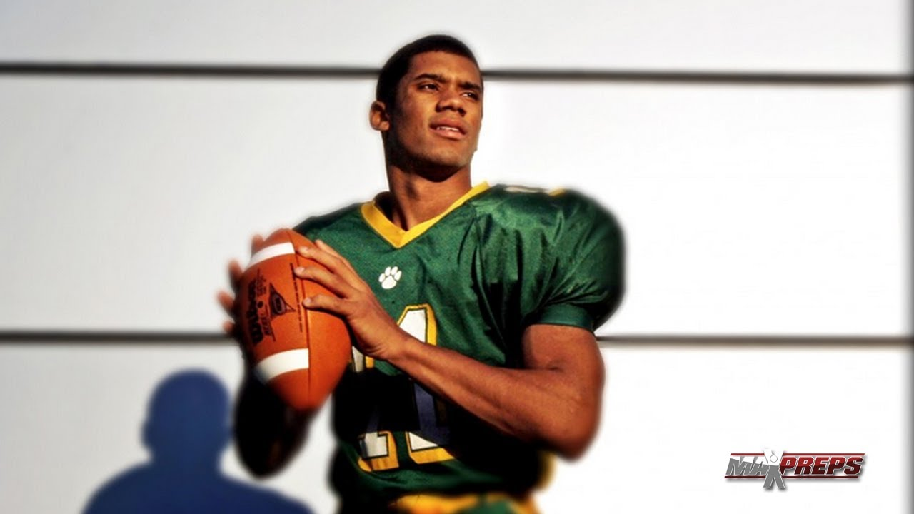 Russell Wilson highlights in high school