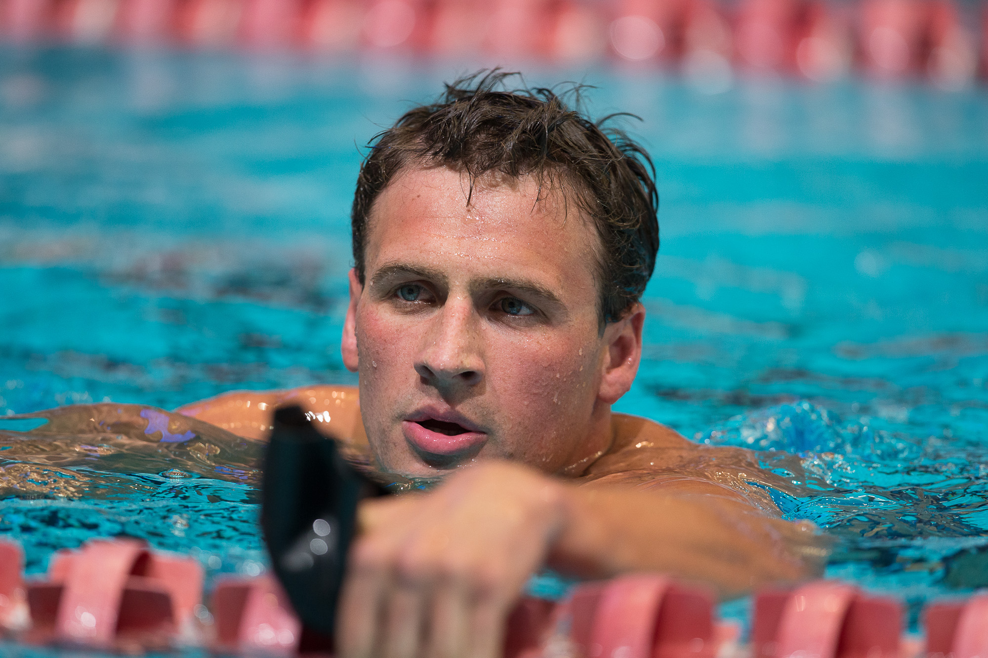 Ryan Lochte, 2013 US World Championship Trials (Photo Credit: Tim Binning, the
