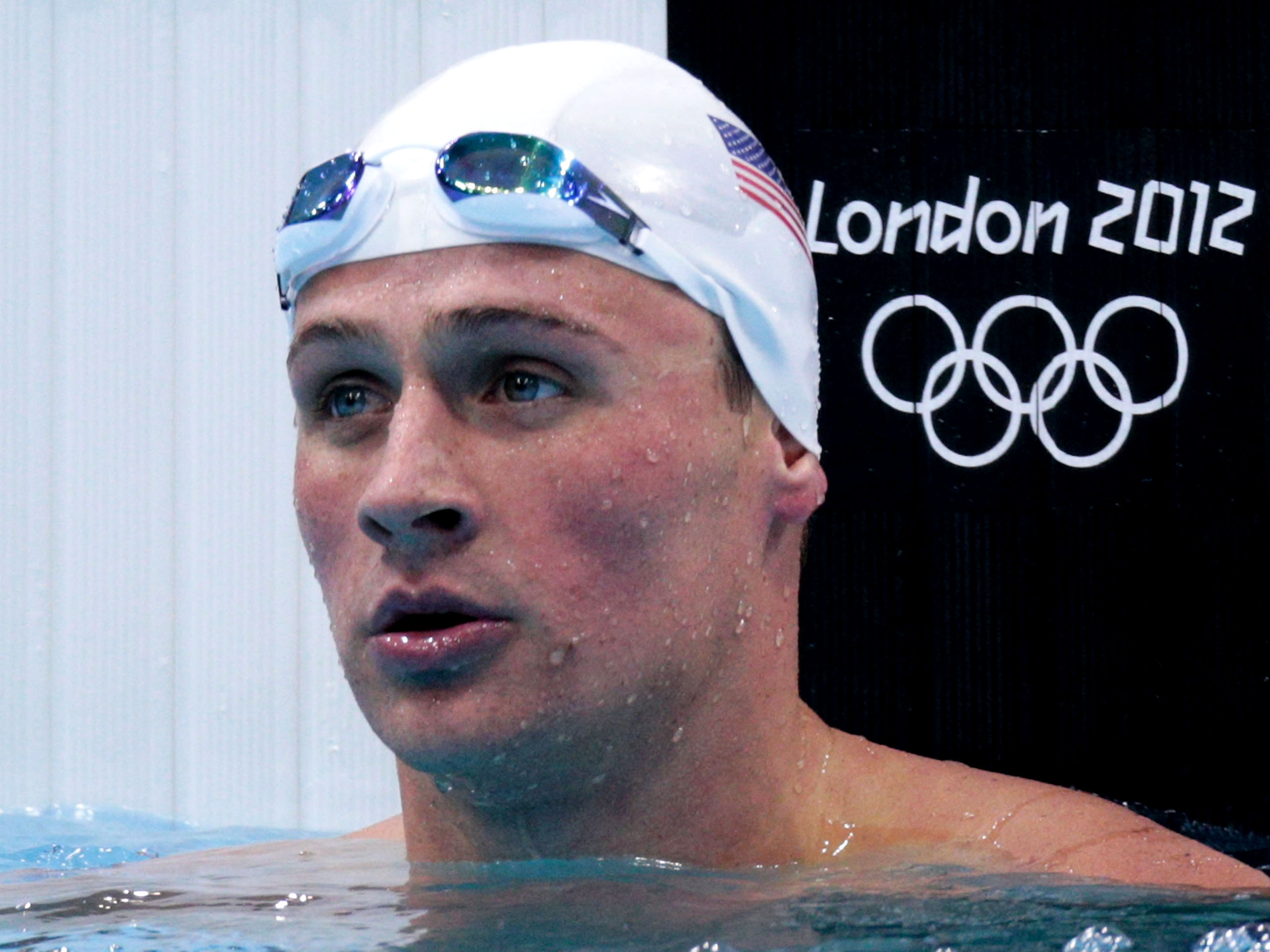 Ryan Lochte high quality background