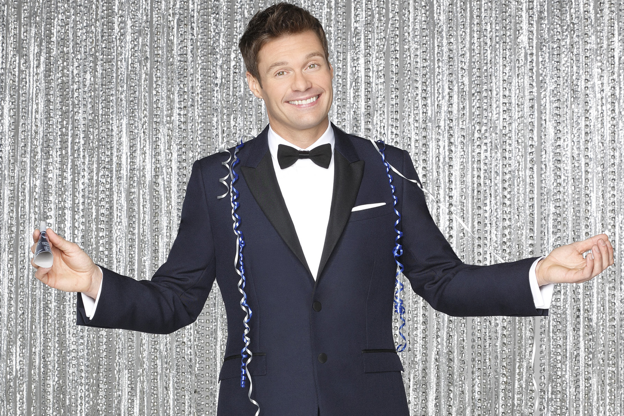 "Seacrest hosts ""Dick Clark's New Year's Rockin' Eve"" on ABC at 8 p.m. Photo: ABC"