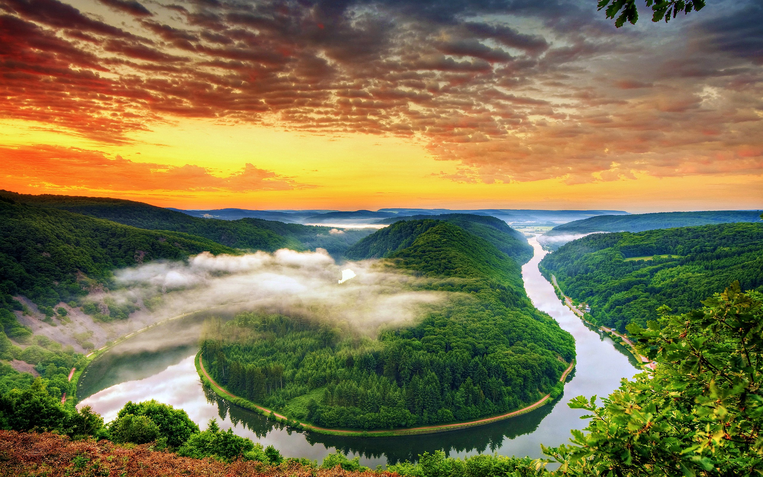 Saar Loop Germany Wallpapers Pictures Photos Images. «