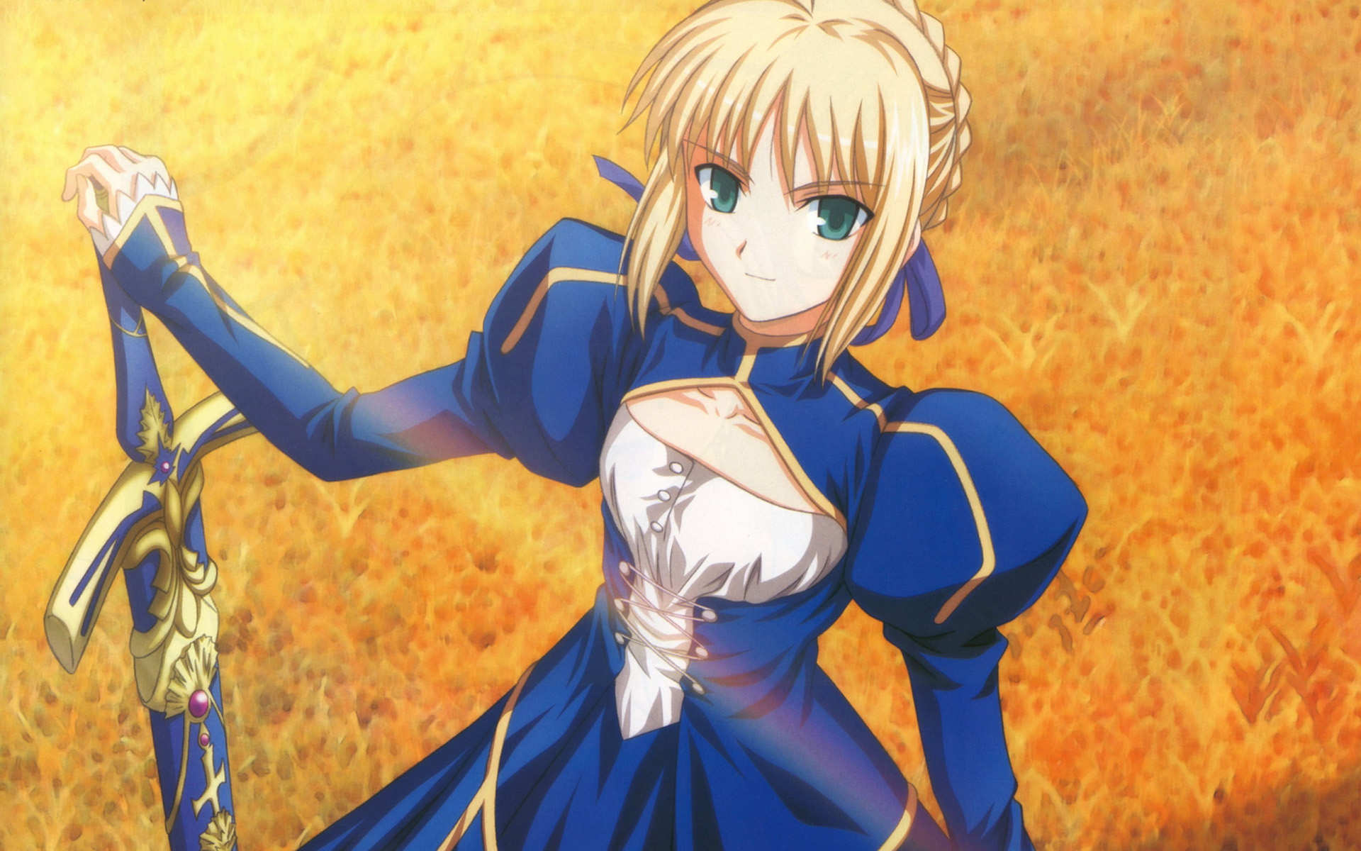 Fate Stay Night Saber Series Anime Manga Characters