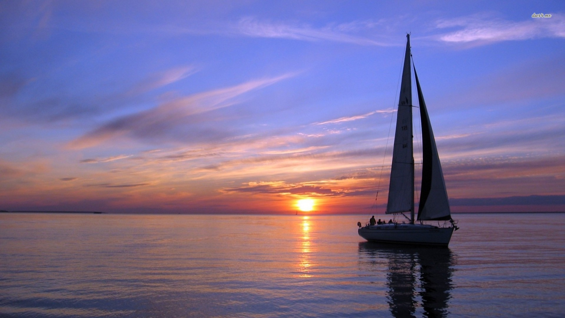 Hd Sailboat Wallpapers: Vehicles for Gt Sailboats Sunset Wallpaper 1920x1080px
