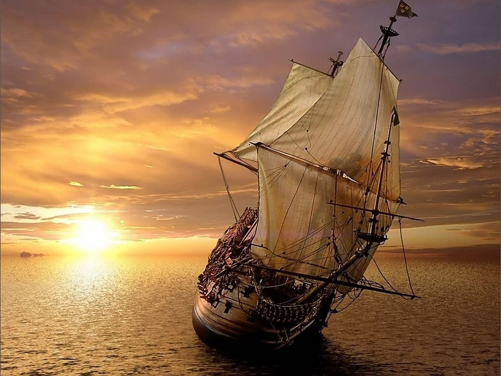 Widescreen resolutions (16:10): 1280x800 1440x900 1680x1050 1920x1200. Normal resolutions: 1024x768 1280x1024. Wallpaper Tags: sailboat sea boats sunset