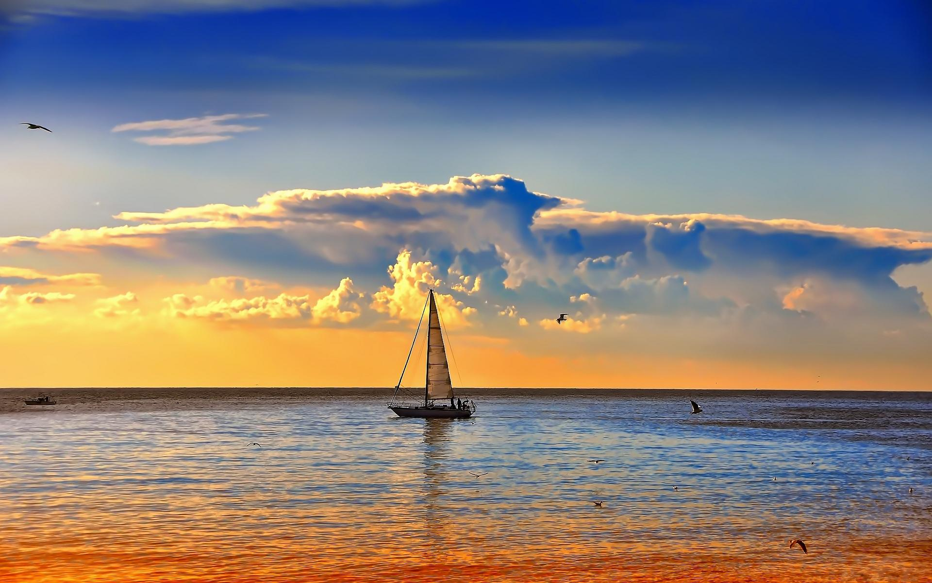 Sailboat Wallpaper 7774 1920x1200 px
